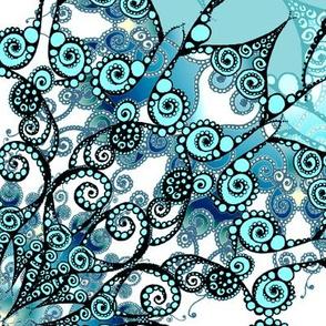 XXL Mandala Turquoise