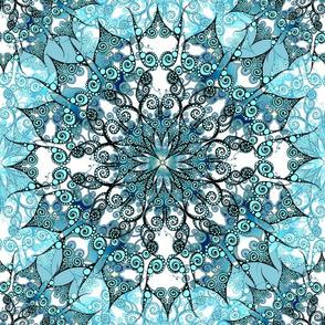 Mandala turquoise