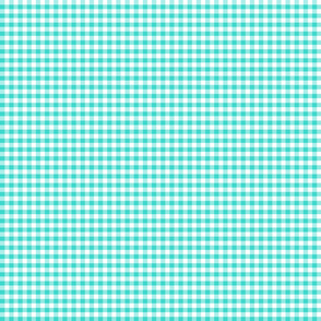 Country turquoise .5 x .5 plaid