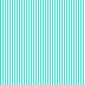Country turquoise .5 x .5 stripe