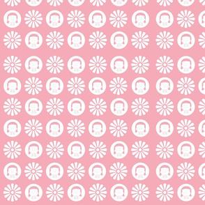 Pink ALAG floral