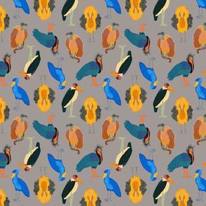 ugly bird fabric