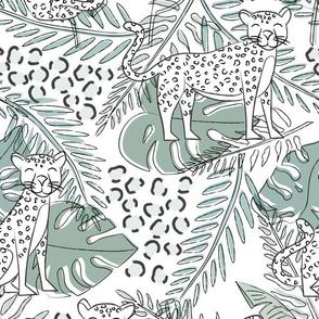 Jungle Cheetah Print