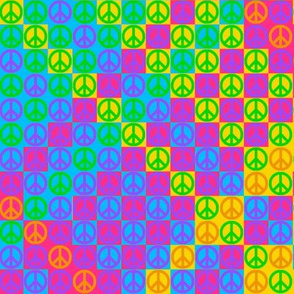 Peace Plaid