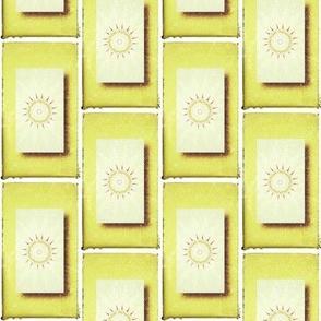 Aztec Sun Tiles