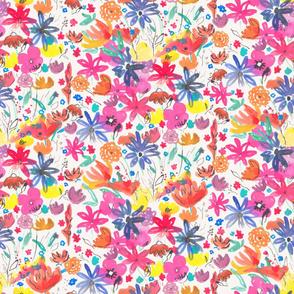Bloom in watercolor