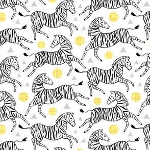 Classy Zebras (Small Version)