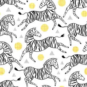 Classy Zebras (Large Version)