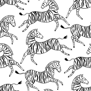Classic Zebras (Large Version)