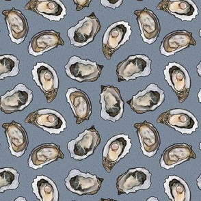 Oyster Feast in Light Blue, Medium