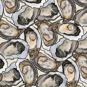 All the Oysters in Cream, Large