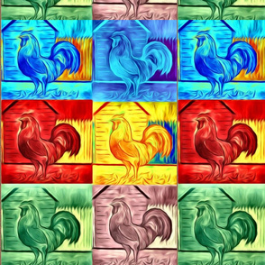 rooster collage2