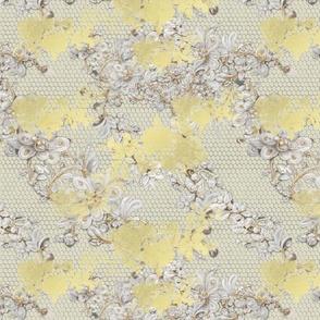 Colorful bright cute decorative flowers, Big Butterflie