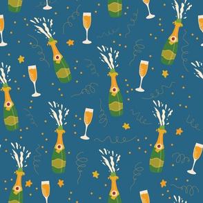 Let's celebrate Champagne Bottles