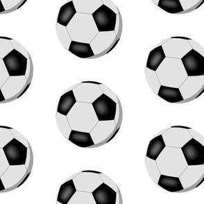 simple soccer balls sports pattern