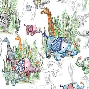 Dreaming of Toys on Safari