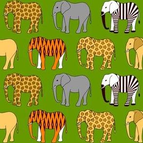09943546 © safari on elephants