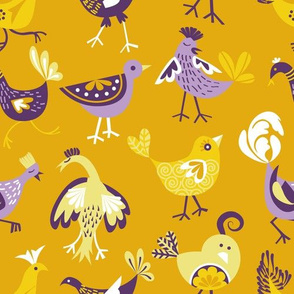 cheeky chickens | sunny