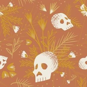 Botanical Skulls Desert