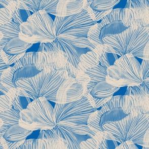 Petal Lines Blue