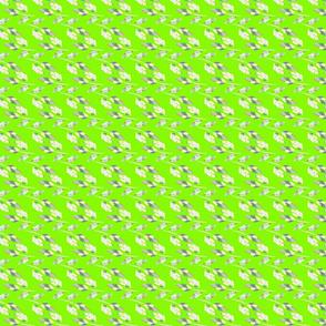 Leaves Pop green