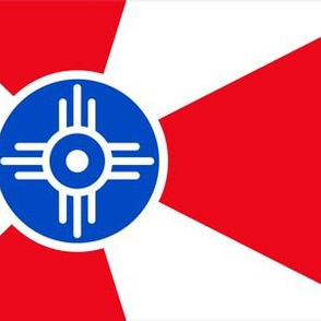 Wichita Flag - Make Masks and Help MakeICT