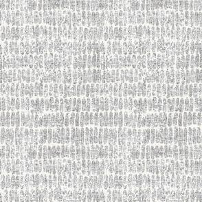 hatches - light grey linen