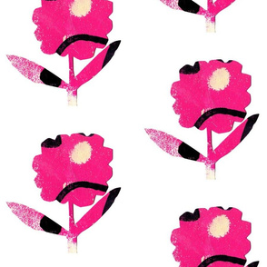 Loud Flower 3 Hot Pink