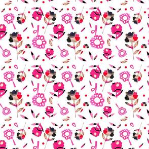 Loud Flower 2 Hot Pink