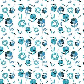 Loud Flower Blue