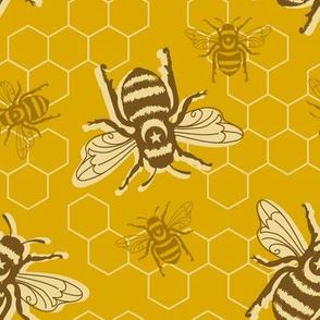 Honey Bees - mustard