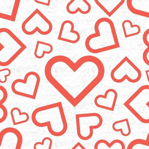 Peace. Love. Recycle. | Love hearts