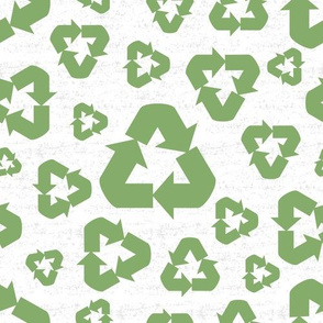 Peace. Love. Recycle. | Recycle symbol
