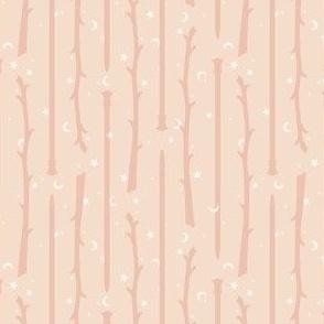 Yarn Wands Knitting - pink