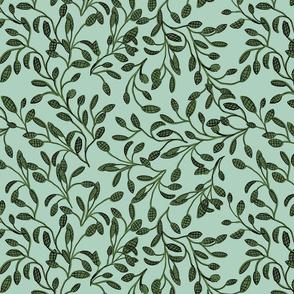 Leaf Garden Turquois