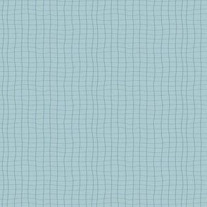 Woven Web Blue