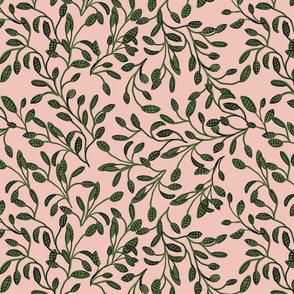 Leaf Garden Rose