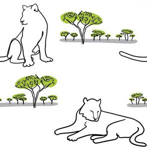 Safari Cats