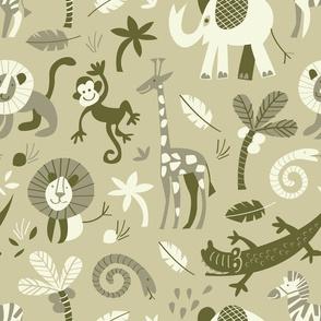 safari animals | sand
