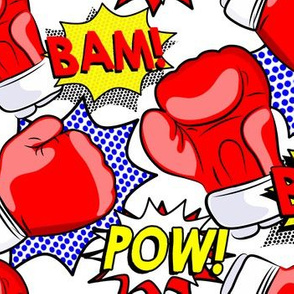 Boxing Pop Art