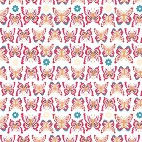Happy Spring Butterflies - Pink