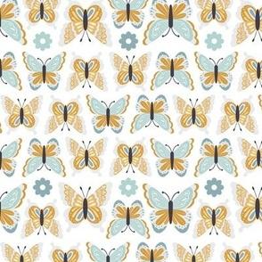 Happy Spring Butterflies - Sunrise