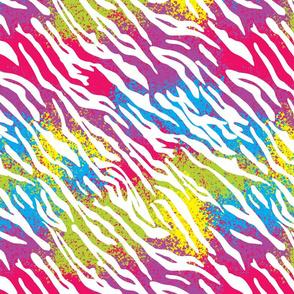Rainbow Tiger Stripes