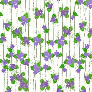 sweet violet pin stripes