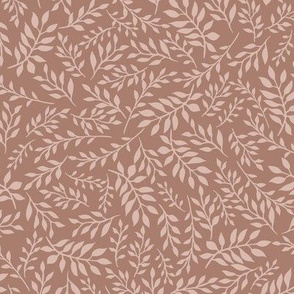 tonal leafy blush