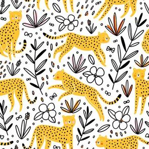 Cheetahs and butterflies
