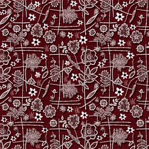 asian garden red