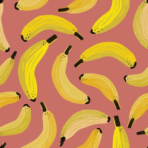 This is bananas - Dirty Pink