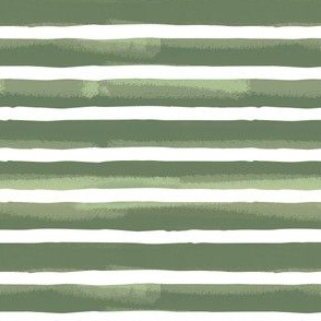 Green Textured Stripes { small }