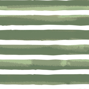Green Textured Stripes